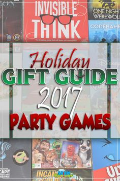 Finding good games for your next party can be difficult. Check out our 2017 Party Games Gift Guide for a number of games that support large groups! - SahmReviews.com