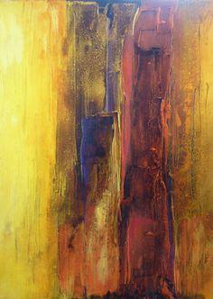 """Saatchi Online Artist: Fabien Bruttin; Mixed Media, 2008, Painting """"Es is damit du rechnen"""""""