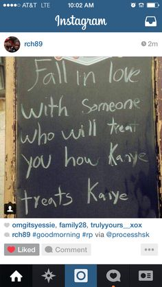 Fall in love with someone ..