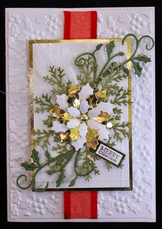 July's challenge was 'Christmas with Ribbon'. I thought that would give everyone a bit of a challenge and something to think about. We rece...