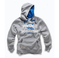 Scruffs Vintage Hoodie Grey / Blue M-Xxl Warm Hoody Work Wear Hooded Sweater Top Pullover Hoodie, Fleece Hoodie, Scruffs Workwear, Safety Clothing, Hooded Sweater, Hoodies, Sweatshirts, Blue Grey, Work Wear