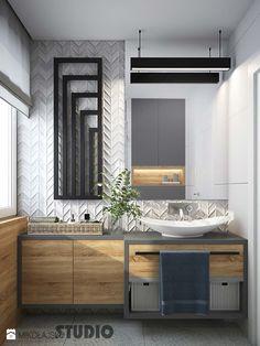 Nowoczesna łazienka - zdjęcie od MIKOŁAJSKAstudio - Łazienka - Styl Industrialny - MIKOŁAJSKAstudio