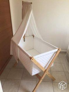 Berceau Jacadi avec ciel de lit Equipement bébé Guadeloupe - leboncoin.fr