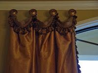 Draped Heading Curtain. How to video