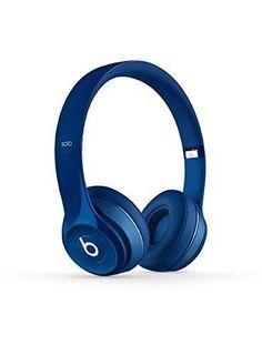 Beats Solo 2 Wired On-Ear Headphone - Blue (Certified Refurbished)