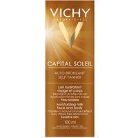 VICHY Capital Soleil Selbstbräuner-Milch für Gesicht und Körper