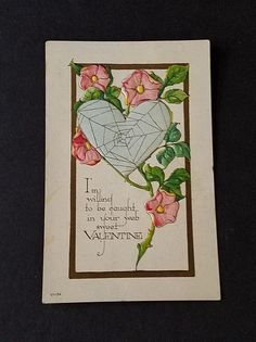 Black Cat Valentines Heart Rose Petals Love Low Profile Novelty Cork Coaster Set