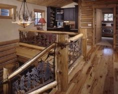 16 Best Log Home Stairs And Railings Images In 2014