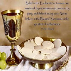 The Eucharist!
