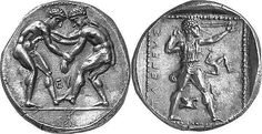 A Magnificent Greek Silver Stater of Selge (Pisidia), Among the Finest Examples Known   Flickr:Intercambio de fotos