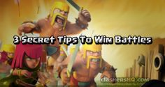Find out the 3 Secret Tips to Win Battle in Clash Royale. These Clash Royale gameplay strategy tips used by top players to win battles every time. #clashroyale