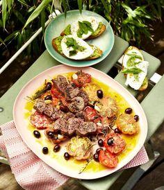 Bruschetta mit Avocado und Mozzarella Rezept - [ESSEN UND TRINKEN]