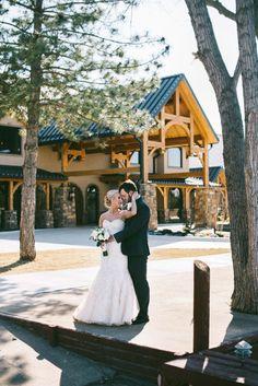 Bridal Portrait outside Heartland Place, 81 Ranch, Enid, Oklahoma. Photo courtesy of Blue Elephant Photography