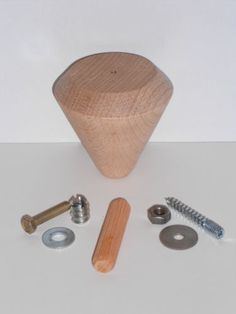 Holzfuesse-Moebelfuesse-Buche-Nr-11-70-80-mm