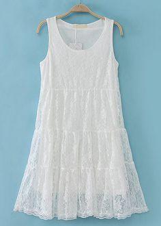 El diseño en A de este vestido es ideal para disimular la falta de curvas, y aporta frescura y comodidad durante la temporada de calor.