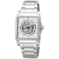 Bulova Men's 96A107 Automatic White Dial Bracelet Watch: Watches: Amazon.com
