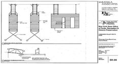 New York Park Architectural Drawing ADA Dock