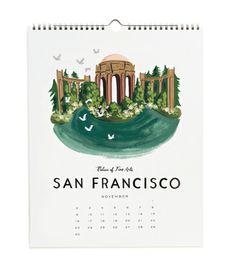 2014 Travel America Calendar / Rifle Paper