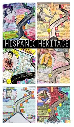 Hispanic Heritage Month Pennant Activity - Study All Knight History In Spanish, Spanish Heritage, Spanish Lessons, Spanish Class, 123 Spanish, Spanish Games, French Lessons, Lessons For Kids, Art Lessons