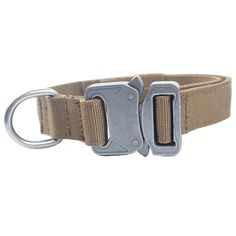 Military Tactical Dog Collar with Metal Buckle for Law Enforcement K9 Training Hunting German Shepherd Pet Supplies #CLICK! #clothing, #shoes, #jewelry, #women, #men, #hats, #watches