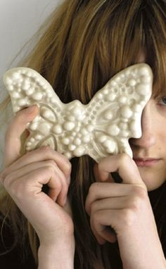SAIMAA ceramic serie, designed by Ivana Helsinki for Tulikivi Pure Beauty, Helsinki, Finland, Scandinavian, Print Design, Butterfly, Ceramics, Country, Ceramica