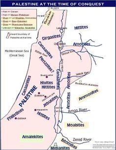 Canaan antes de la conquista