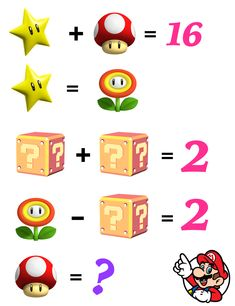 Did you know learning math could be this fun? Mind Puzzles, Maths Puzzles, Puzzles For Kids, Fun Math, Math Games, Maths Starters, Best Brain Teasers, Logic Math, Math Genius