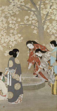 elysian well 1912 kobayashi kokei japanes art