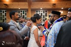Chicago Wedding Photographer: Nakai Photography. Malayalee Indian Orthodox wedding photos! Tying the Minnu http://www.nakaiphotography.com