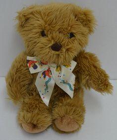 "FAO Schwarz Teddy Bear Plush Brown Logo Ribbon Stuffed Animal 13"" #FAOSchwarz http://stores.ebay.com/Lost-Loves-Toy-Chest/_i.html?image2.x=22&image2.y=13&_nkw=fao+schwarz"