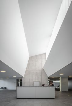 Completed in 2013 in Girona, Spain. Images by Jesús Arenas . Three ground floors.  The building is implanted in a magnificent place from the landscape point of view. It is conceived as a horizontal, tiered...