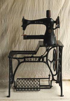 TE-1, SEIKO, cobbler sewing machine,  #leather #sewingmachine #sewing #machine