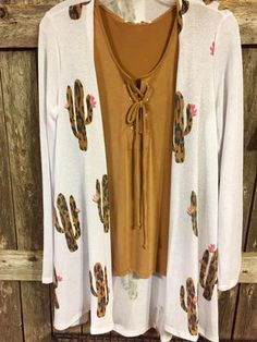Awesome Leopard Cactus Cardigan. Light weight for all seasons.