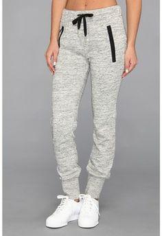 adidas Originals - Premium Basics Cuffed Track Pant (Medium Grey Heather) -  Apparel on
