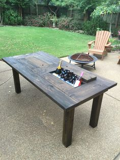 Cooler Table!