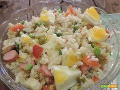 Insalata di riso ricca  #ricette #food #recipes