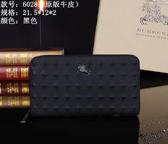 Burberry Clutch Bag 6028 Black