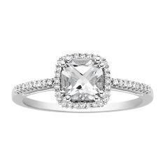 White Topaz ring. <3