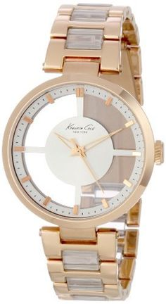 Kenneth Cole New York Women's KC4759 Transparent Classic Round See-Thru Dial Watch Kenneth Cole. $97.50. Solid stainless steel round case. Water-resistant to 99 feet (30 M). Limited lifetime warranty. Solid stainless steel bracelet. Dependable Japanese Analog-Quartz movement
