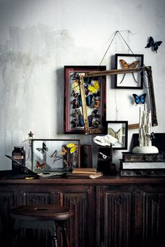 Chaotic yet curated collection  @ Home & Delicious.