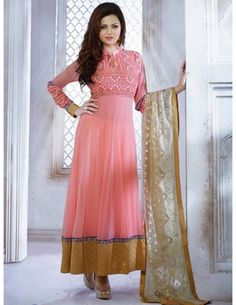 Drashti Dhami In Kalidar Suit http://www.bharatplaza.com/new-arrivals/salwar-kameez.html