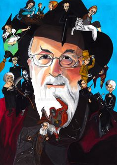Terry Pratchett by hatoola13