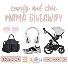 Go to --> @babygreeters next  We have teamed up to spoil one lucky follower with some amazing treats: stroller sunnies headphones diaper bag sneakers and 5 pairs of Lularoe Leggings!  Entry is easy:  1. FOLLOW ME  2. LIKE this post. 3. Head to next shop mentioned in first line. 4. For an extra entry COMMENT your favorite comfy clothing or accessory.  Follow the steps above until you make it back here. Anyone who has won a loop in the past 6 months is not eligible. Please make your account…