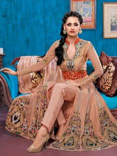 Download New Anarkali Dresses Designs HD Pictures 2015