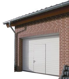 Image result for garage door with door inset  sc 1 st  Pinterest & Garage door with Door and Windows | The Black Hole | Pinterest ...