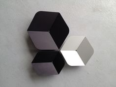 Anodised aluminium bowls by Poly