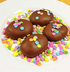 Homemade Peanut Butter Eggs - by Kelly Bakes
