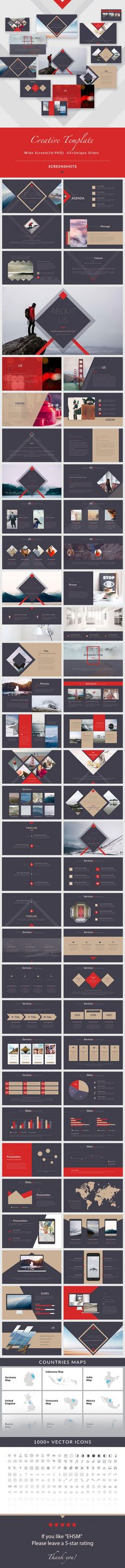 Buy EHSM - Creative PowerPoint Presentation Template by on GraphicRiver. General Description Screen Size unique slides Master slides Free Font Used Transition animation Creative Sl. Creative Powerpoint Presentations, Professional Powerpoint Templates, Powerpoint Presentation Templates, Keynote Template, Design Presentation, Change Image, Photoshop, Book Layout, Graphic Design Typography