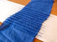 How to make a pleating board - pleat your own fabric