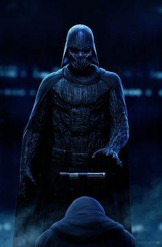 Darth Vader force ghost apprentice variant by sancient.deviantart.com on @DeviantArt